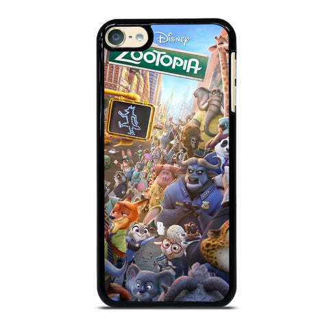ZOOTOPIA CHARACTERS Disney iPod Touch 6 Case Cover