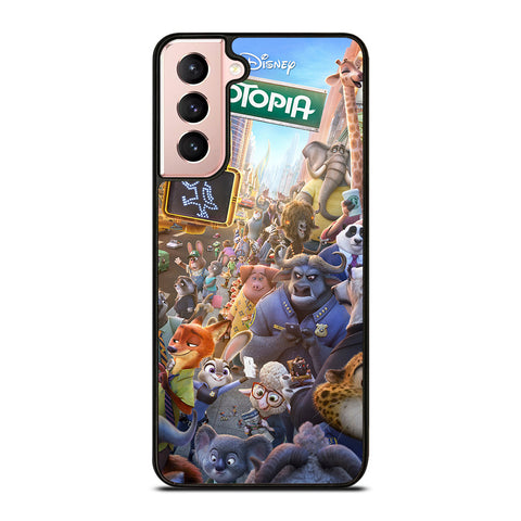 ZOOTOPIA CHARACTERS Disney Samsung Galaxy S21 Case Cover