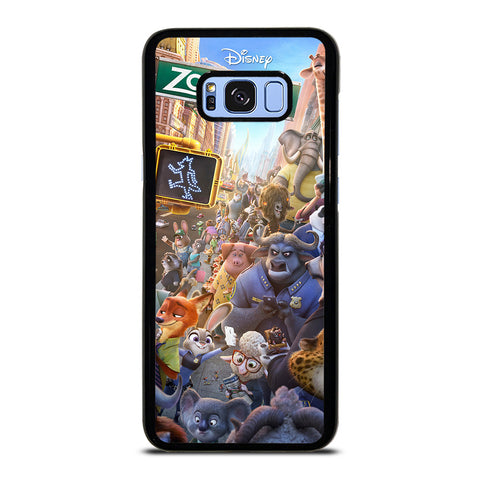 ZOOTOPIA CHARACTERS Disney Samsung Galaxy S8 Plus Case Cover