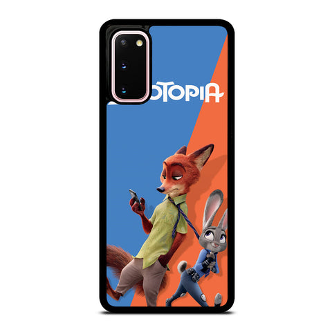 ZOOTOPIA NICK AND JUDY DISNEY Samsung Galaxy S20 Case Cover