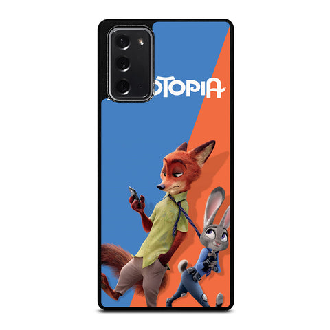 ZOOTOPIA NICK AND JUDY Disney Samsung Galaxy Note 20 Case Cover