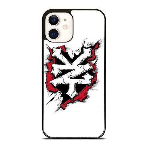 ZOO YORK LOGO WHITE iPhone 12 Case Cover