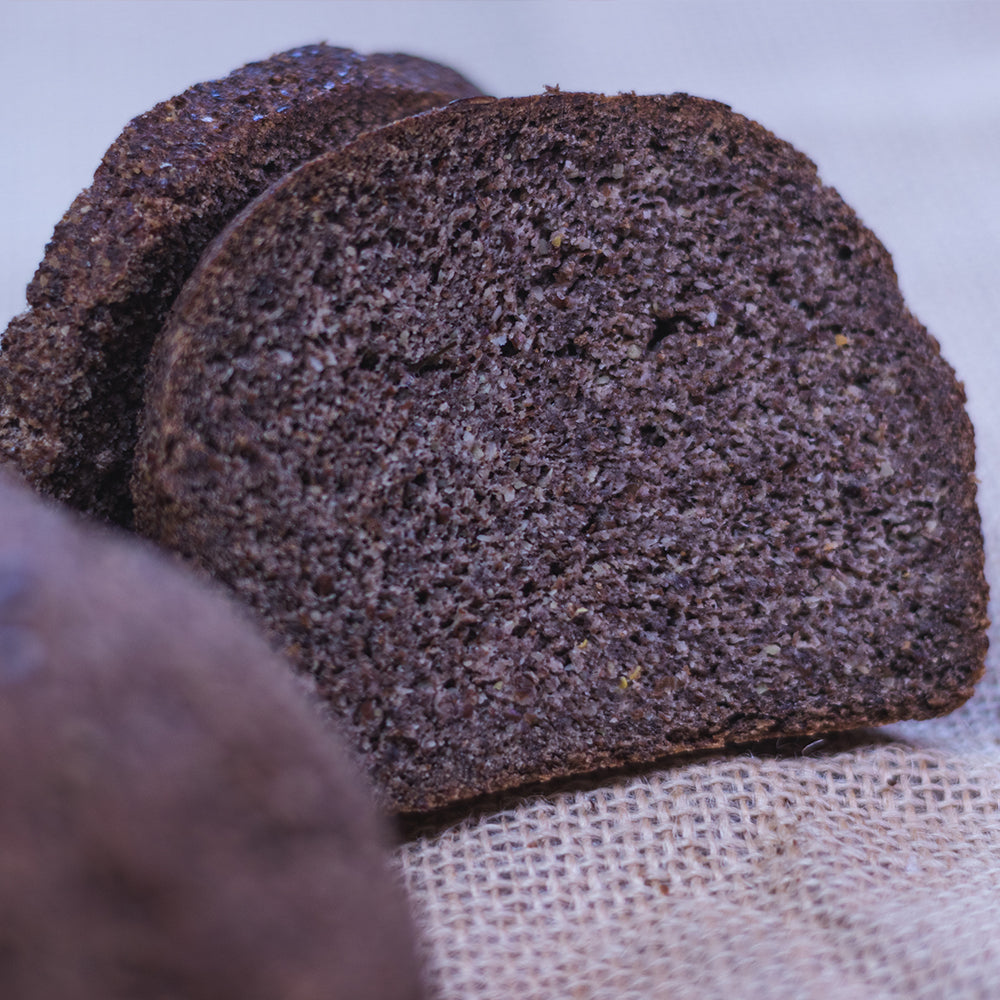 Keto Flaxseed Bread Loaf (400  Grams)