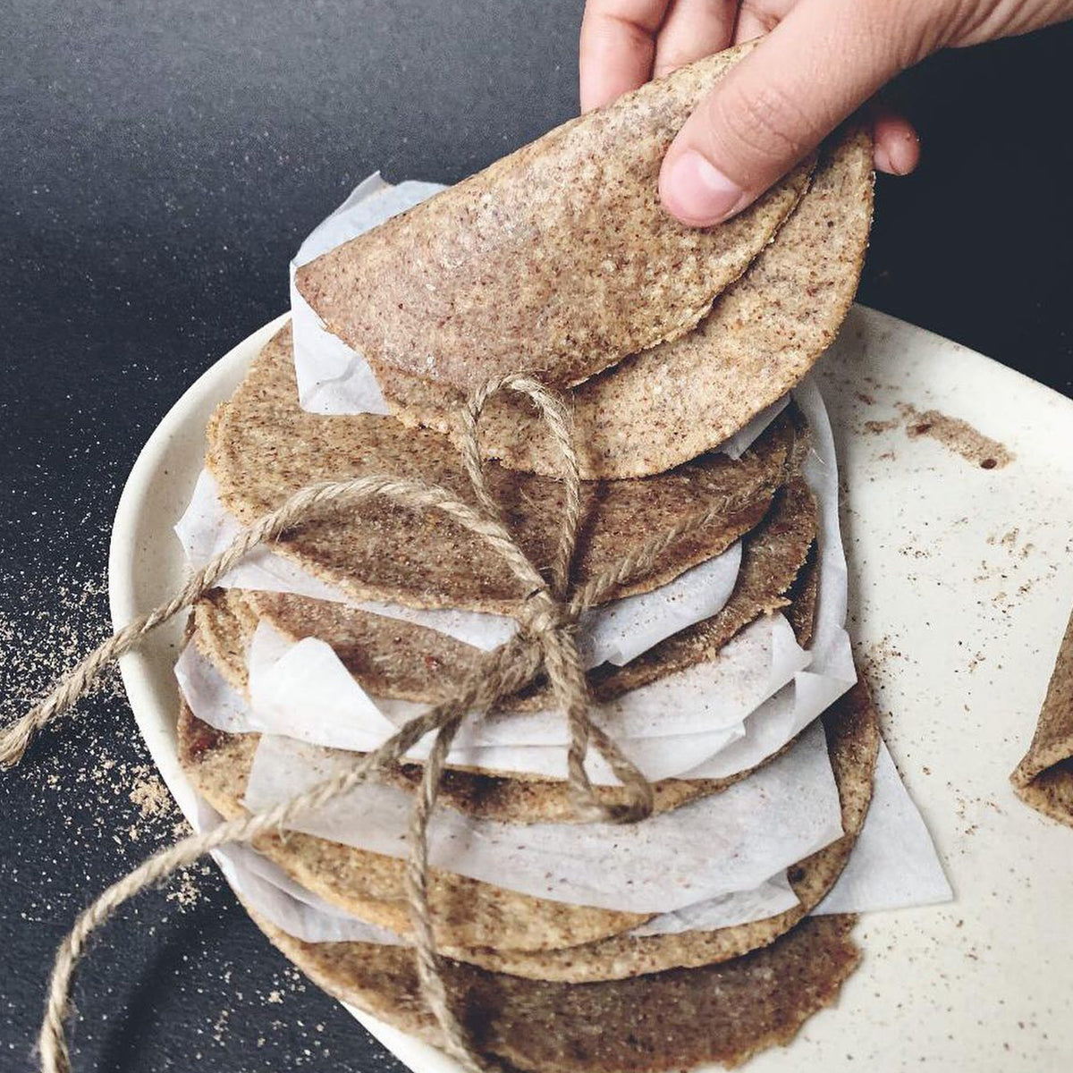 Keto Garilic Tortilla Wraps(20 Keto Garlic Tortilla Wraps)