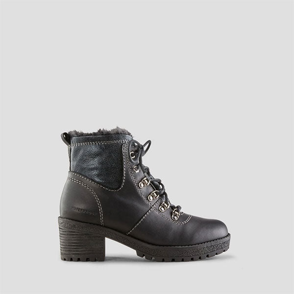 Dixon Leather Ankle Boot - Black
