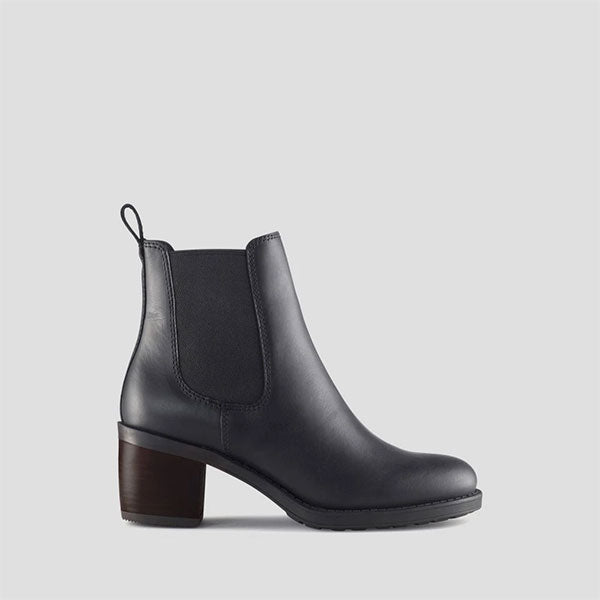 Fargo Leather Ankle Boot - Black