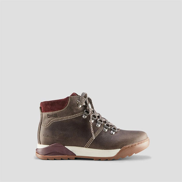 Swerve Leather Hiker Boot - Taupe