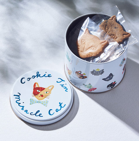 Miracle Cat Cookie Tin