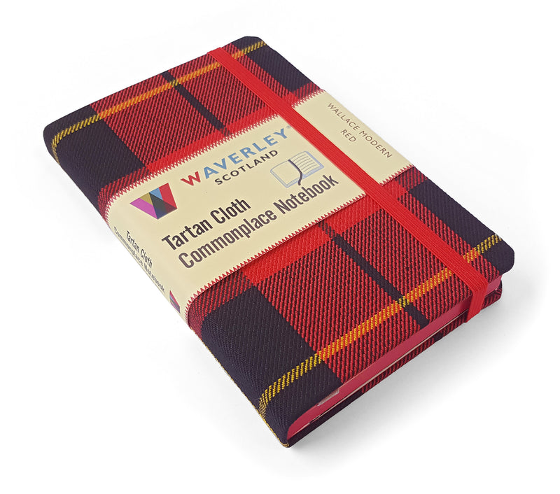 Pocket Notebook Wallace Modern red