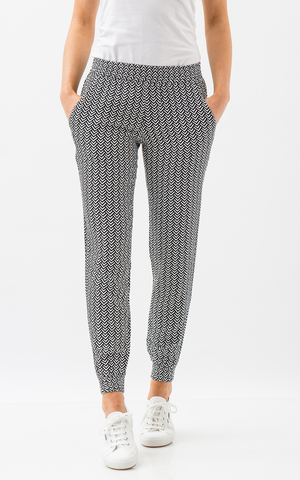 Oscar & Ethel | Dasher Black And White Pants