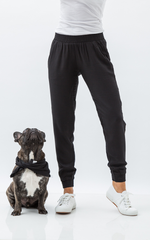 Oscar & Ethel | Lucky Black Pants And Scarf