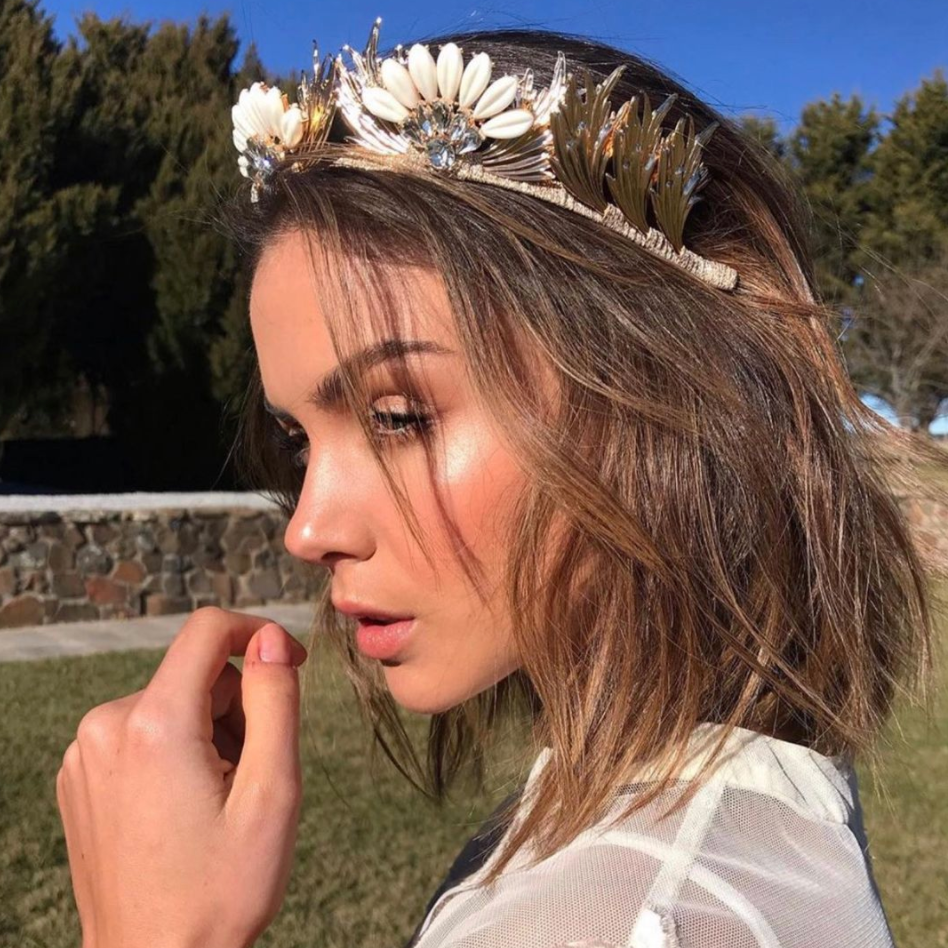 Gold Delilah Crown | ASHLEE LAUREN
