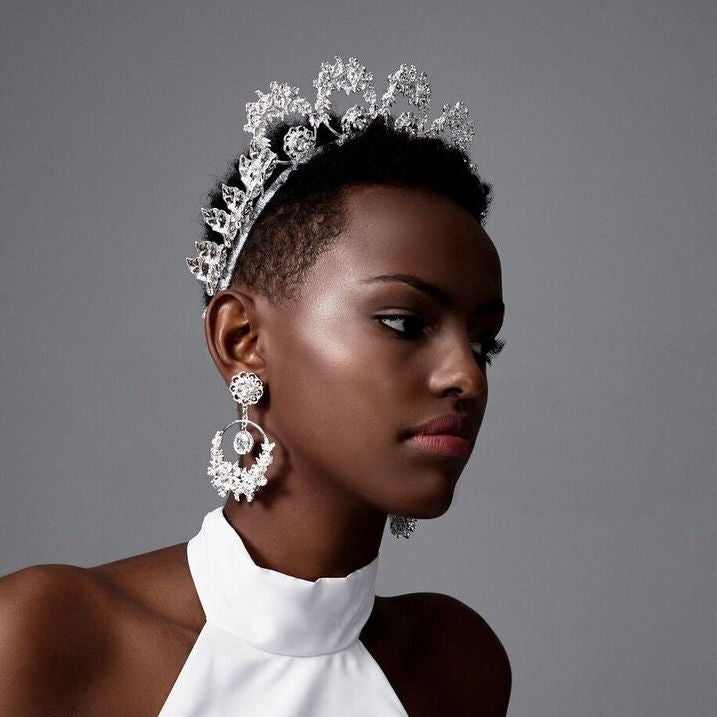 Silver Poppy Crown | ASHLEE LAUREN