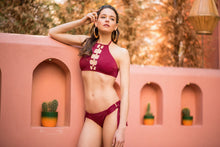 Load image into Gallery viewer, High Neck Bikini - Cherry