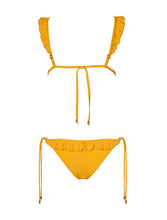 Load image into Gallery viewer, Ochre Ruffles Bikini