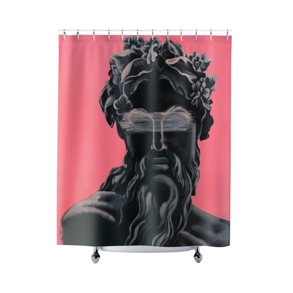 Ancient God Shower Curtain