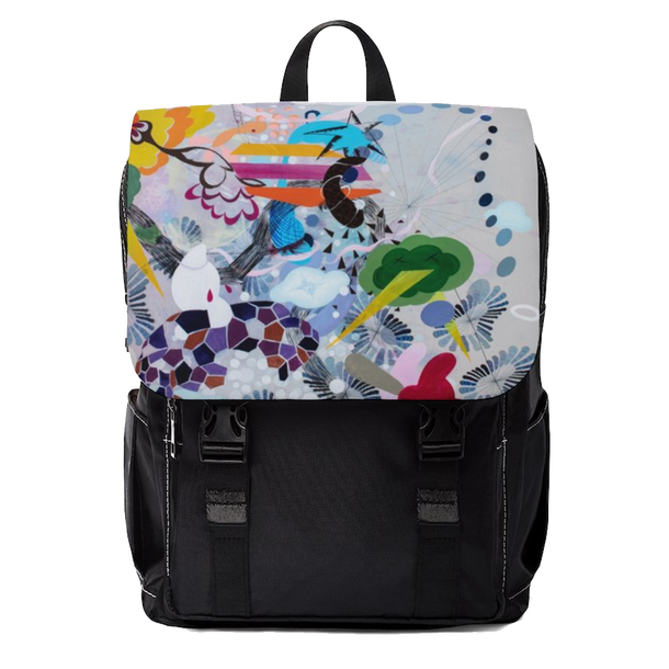 Rainbow fall Shoulder Backpack