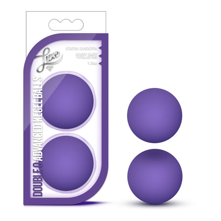 Luxe - Double O Adanced Kegel Balls - Purple
