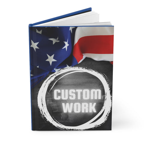 CUSTOM WORK - Hardcover Journal Matte