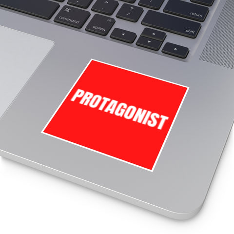PROTAGONIST - Square Vinyl Stickers