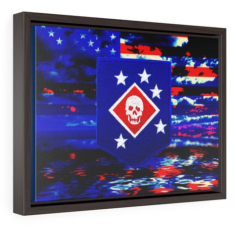CUSTOM - Horizontal Framed Premium Gallery Wrap Canvas