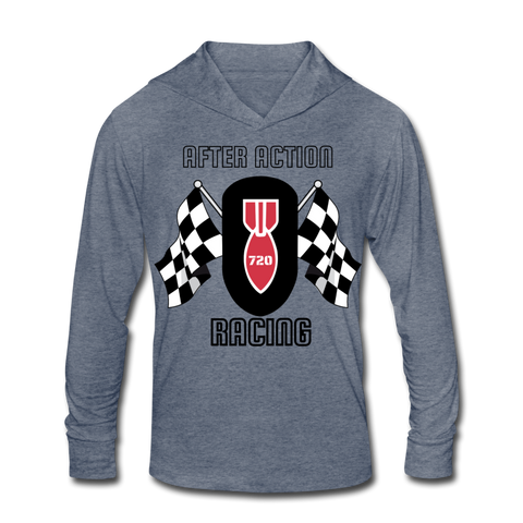 AAR Racing Unisex Tri-Blend Hoodie Shirt - heather blue