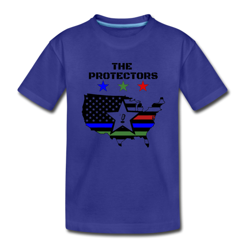 Kids' PROTECTORS Premium T-Shirt - royal blue