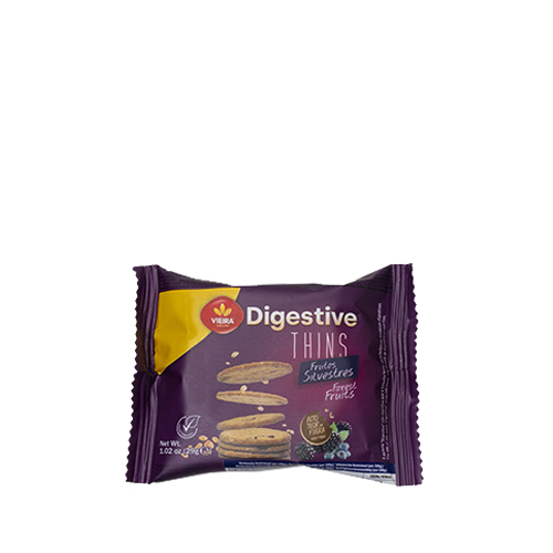 Bolachas Digestive Thins Frutos Silvestres 174g
