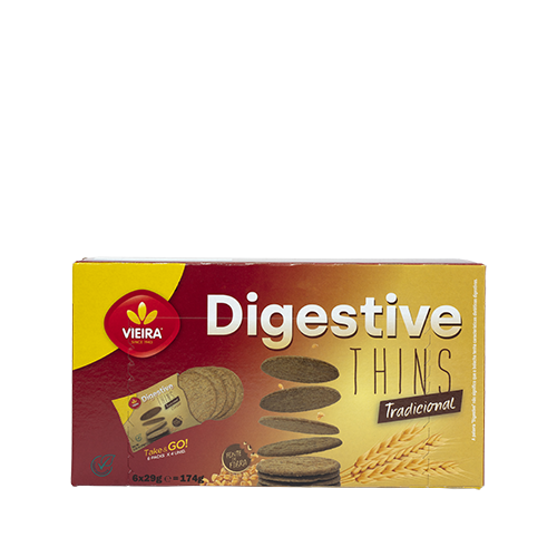 Digestive Thins Biscuits Traditional 174g