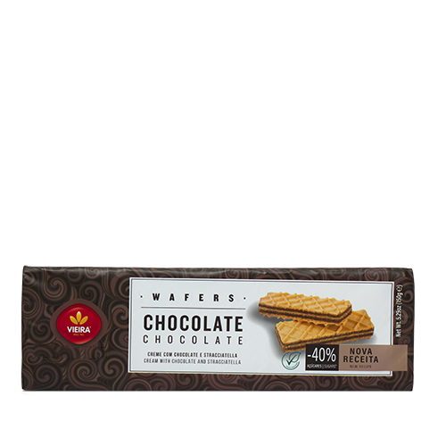 Wafers Chocolate 150G Frente