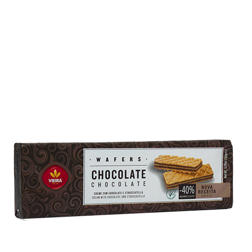 Wafers Chocolate 150G Lateral