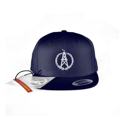 OilerMobb Navy Snap Back