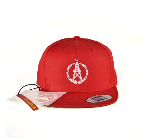 OilerMobb Red Snap Back
