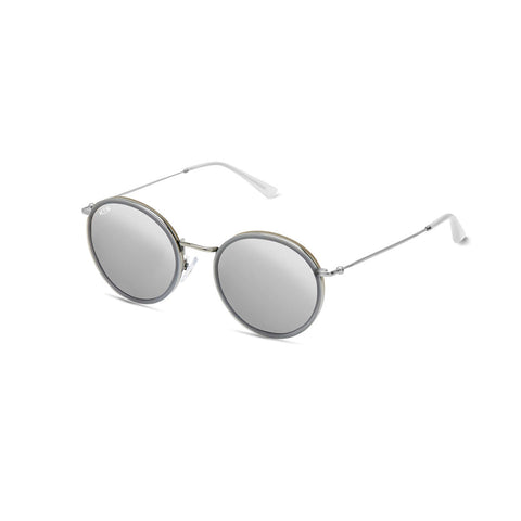 KAPTEN & SON SUNGLASS - AMSTERDAM ALL GREY MIRRORED - KSS4251145232092