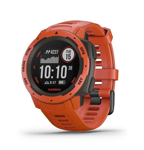 GARMIN INSTINCT - FLAME RED / RED