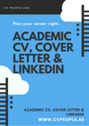 Academic CV, Cover Letter & LinkedIn Optimisation