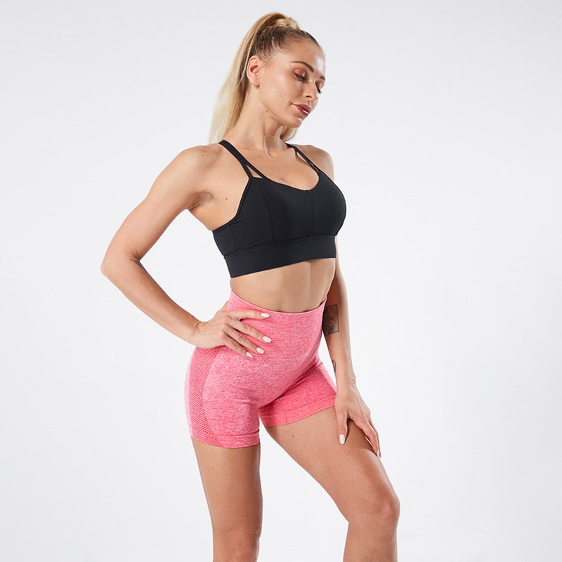 Running Seamless Push Up Short