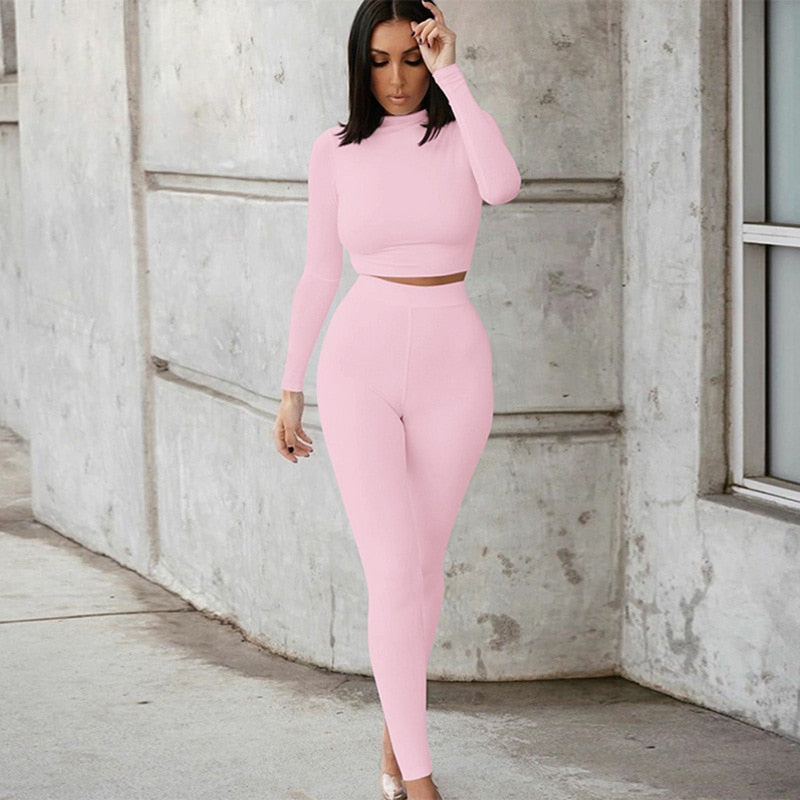 Sexy Top and Pant Set Tracksuit