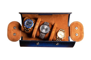 "Watch Roll ""Patina Blue"""