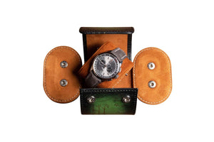 "Watch Roll ""Patina Green"""
