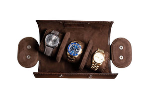 "Watch Roll ""Patina Brown"""