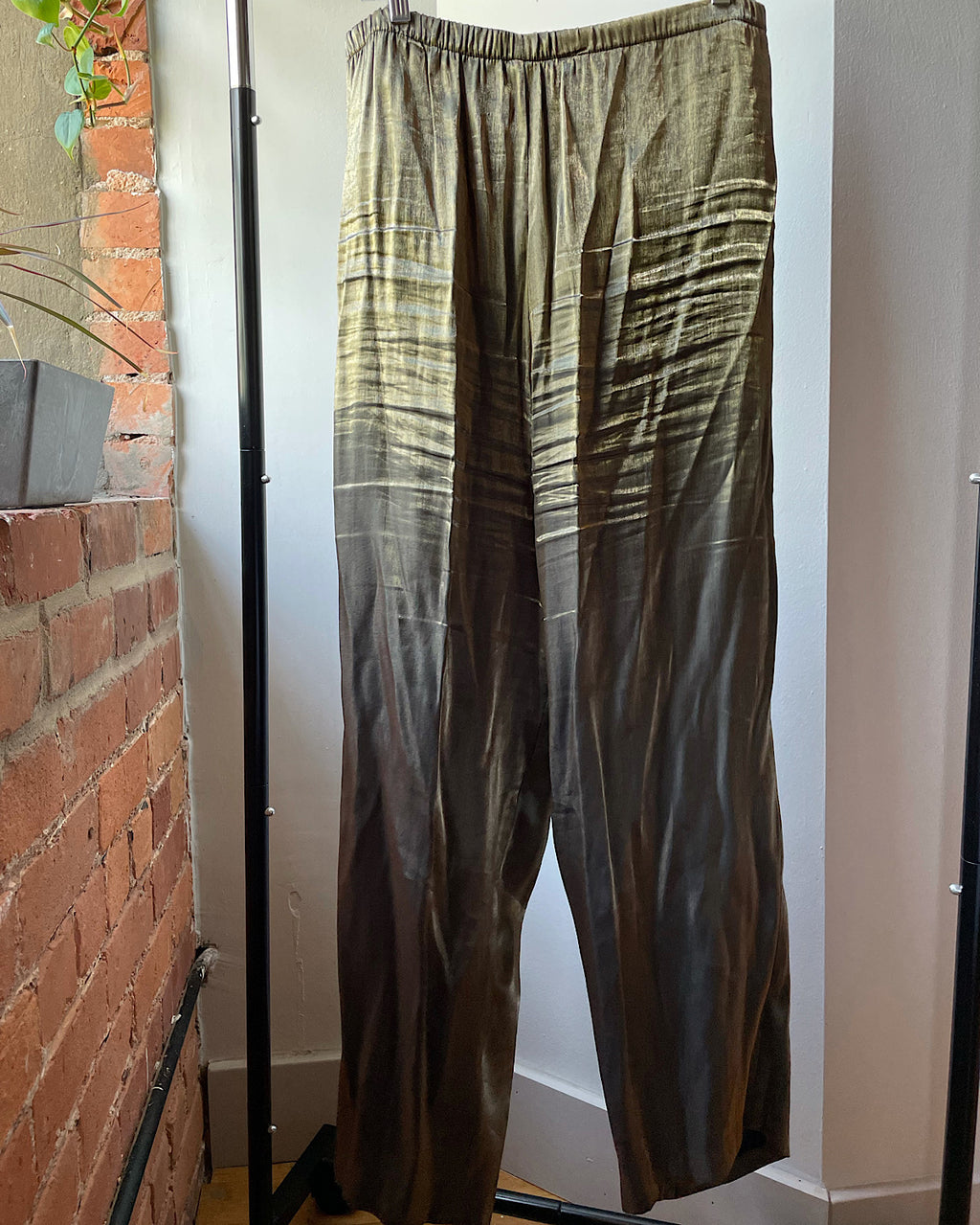 Vintage Old Gold Easy Pants (1X/2X)