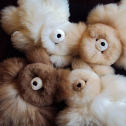 Alpaca Stuffed Teddy Bear
