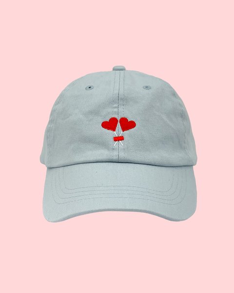 LOVERS CAP BABY BLUE