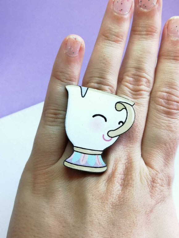Anillo Chip kawaii