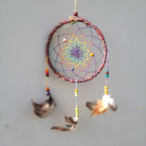 Recycled Silk Dream Catcher