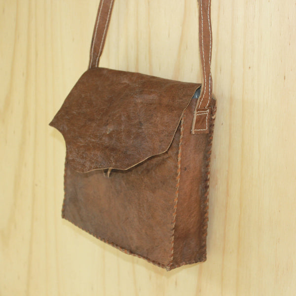 Jarrah Leather Bag