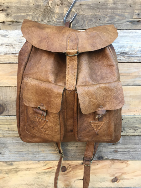 Santa Fe Leather Backpack