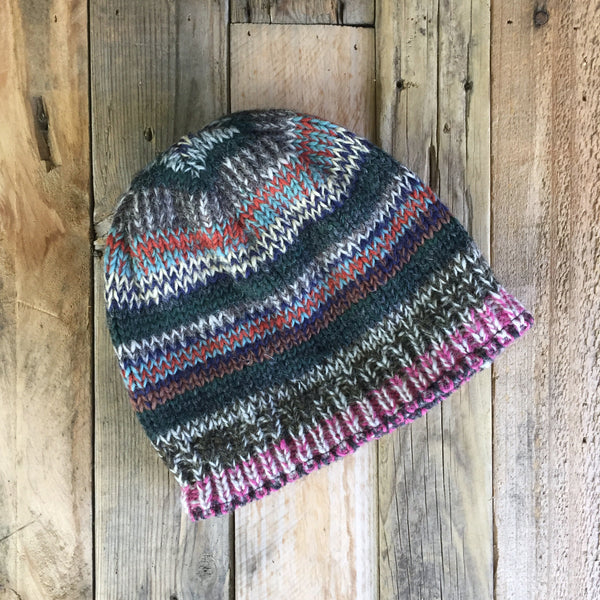 Multicolour Beanie - Simple - 1