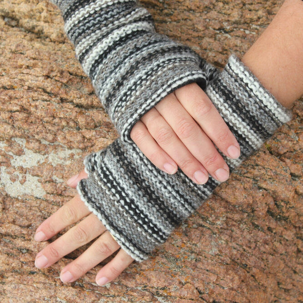 Multicolour Wristwarmers - 9